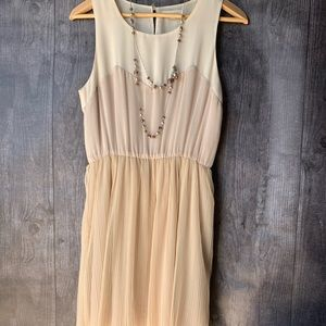 Lush Cream Dress
